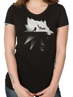 Tričko Zaklínač - Silhouette - dámské (americká vel. M)