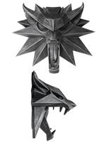 Zaklínač nástěnný medailon Vlka