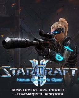 StarCraft 2 Nova Covert Ops bundle + Commander: Abathur (DIGITAL)