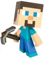 Figurka Minecraft - Steve 6 s krumpáčem - poškozená krabice