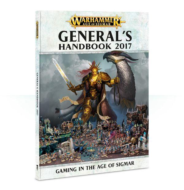 Kniha Warhammer Age of Sigmar - Generals Handbook 2017