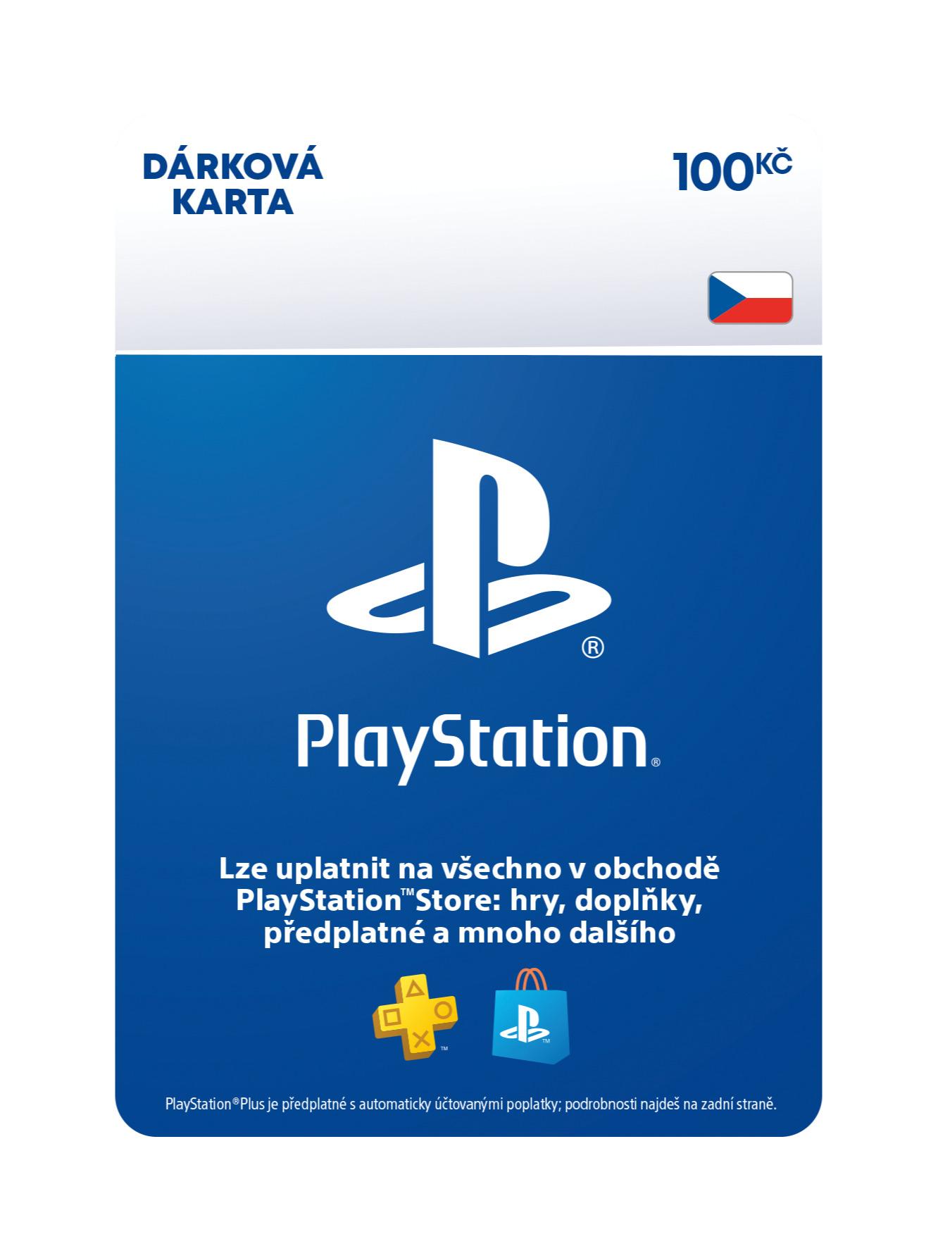 PlayStation Store - Naplnění peněženky 100 Kč (PS DIGITAL) (PS4)