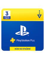 PlayStation Plus - členství na 3 měsíce (PS DIGITAL)