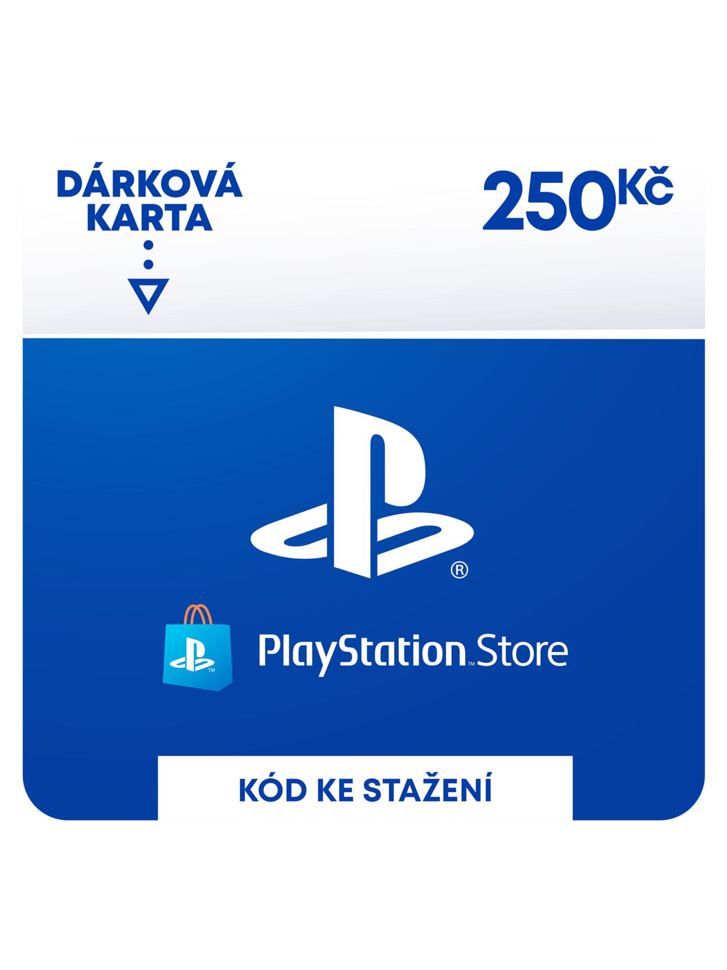 PlayStation Store - Naplnění peněženky 250 Kč (PS DIGITAL) (PS4)