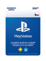 PlayStation Store - Naplnění peněženky 500 Kč (PS DIGITAL)