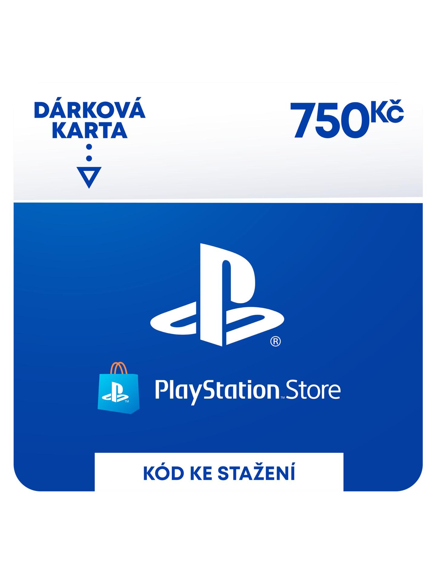 PlayStation Store - Naplnění peněženky 750 Kč (PS DIGITAL) (PS4)