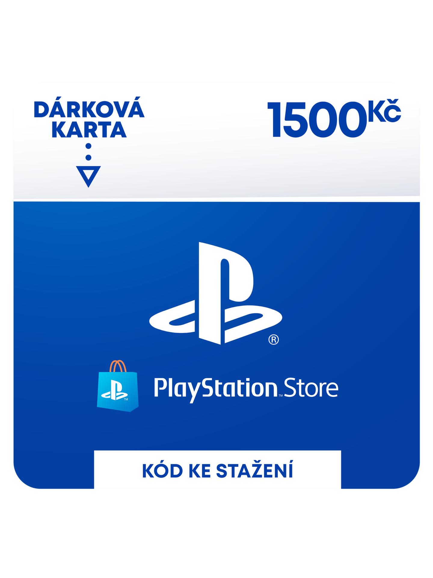 PlayStation Store - Naplnění peněženky 1500 Kč (PS DIGITAL) (PS4)
