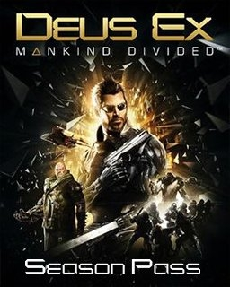 Deus Ex Mankind Divided Season Pass (DIGITAL)