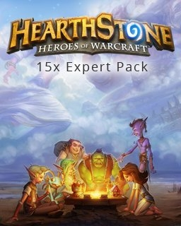 15x Hearthstone Expert Pack (DIGITAL)