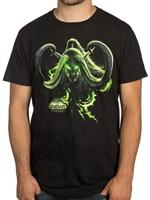 Tričko World of Warcraft: Legion - Illidans Revenge (americká vel. M/evropská L)