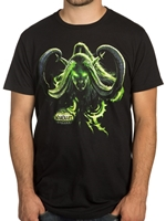 Tričko World of Warcraft: Legion - Illidans Revenge (amer. vel. XXL/evropská XXXL)