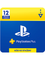 PlayStation Plus - členství na 12 měsíců (PS4 DIGITAL) (PS4)
