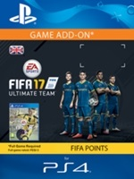 1050 FIFA 17 Points Pack - předplacená karta (PS4 DIGITAL)