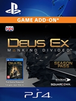 Deus Ex: Mankind Divided - Season Pass (PS4 DIGITAL)
