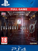 Resident Evil 0 (PS4 DIGITAL)