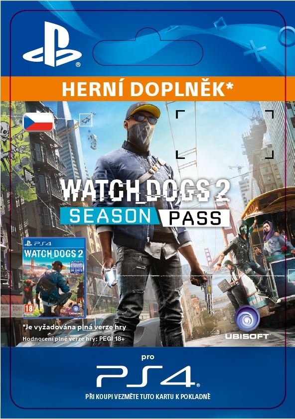 Watch Dogs 2 - Season Pass (PS4 DIGITAL)