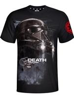 Tričko Star Wars - Death Trooper - černé (velikost S)