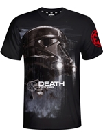 Tričko Star Wars - Death Trooper - černé (velikost M)