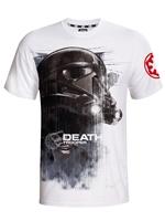 Tričko Star Wars - Death Trooper - bílé (velikost L)