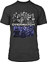 Tričko Overwatch - Bring Your Friends (americká vel. M/evropská L)