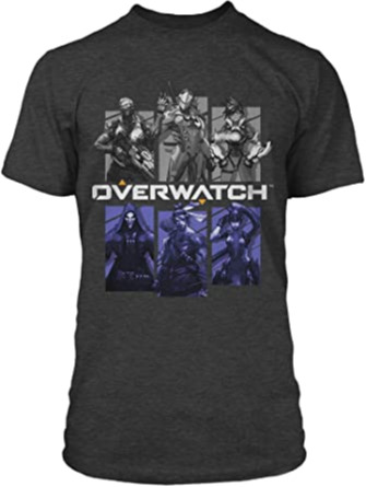 Tričko Overwatch - Bring Your Friends (americká vel. L / evropská XL)