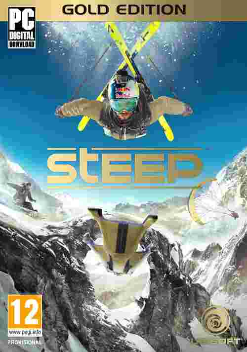 STEEP Gold Edition (PC) DIGITAL + DLC