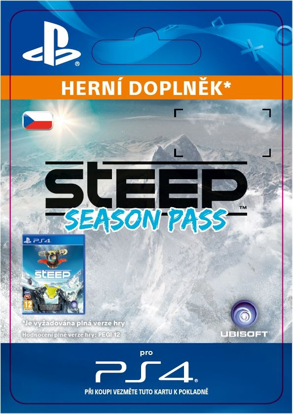 STEEP - Season Pass (PS4 DIGITAL)