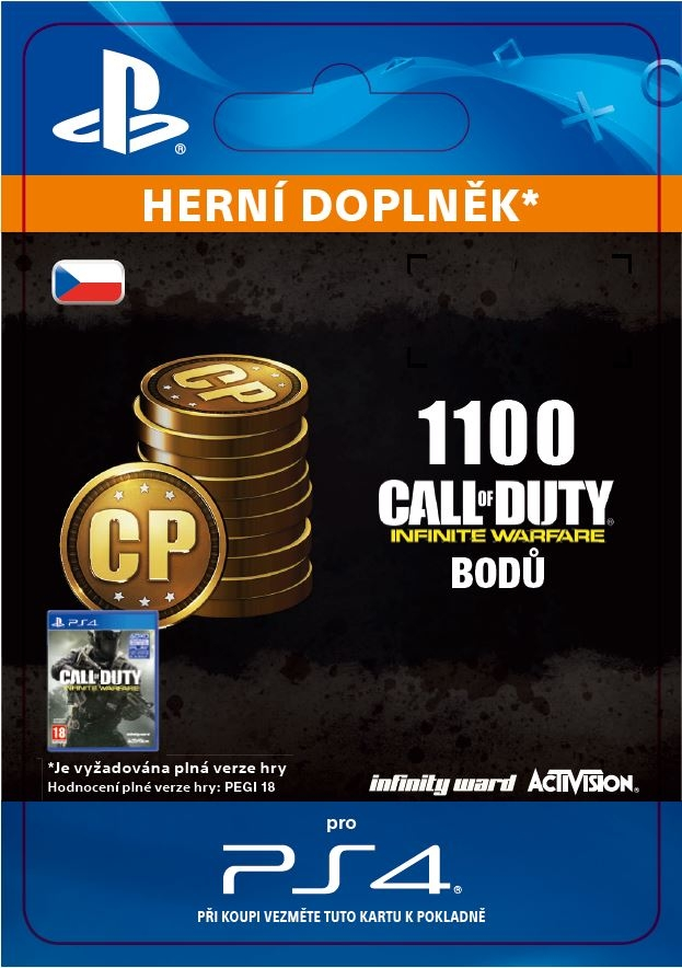 Call of Duty: Infinite Warfare - 1,100 Points (PS4 DIGITAL)