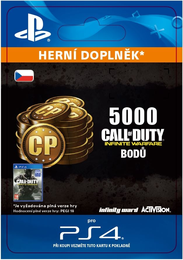 Call of Duty: Infinite Warfare - 5,000 Points (PS4 DIGITAL)