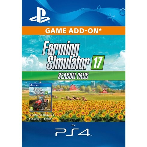 Farming Simulator 17 - Season Pass (PS4 DIGITAL)