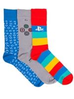 Ponožky PlayStation - 3 páry