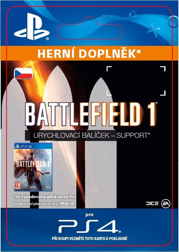 Battlefield 1 Shortcut Kit: Support Bundle (PS4 DIGITAL)