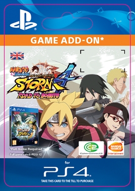 NARUTO STORM 4 : Road to Boruto Expansion (PS4 DIGITAL)