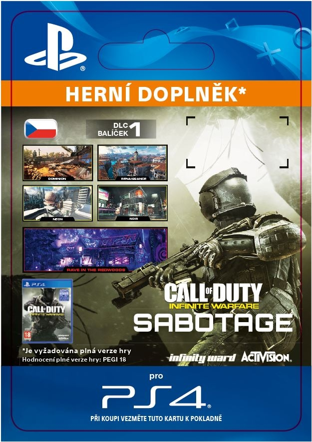 Call of Duty: Infinite Warfare DLC 1: Sabotage (PS4 DIGITAL)