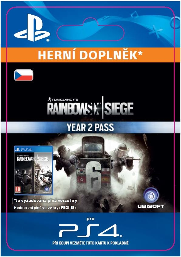Rainbow Six: Siege - Year 2 Pass (PS4 DIGITAL)