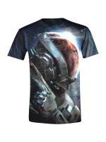 Tričko Mass Effect: Andromeda - Ryder N7 (velikost XL)