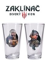 Skleničky Zaklínač 3 - Set Geralt a Ciri