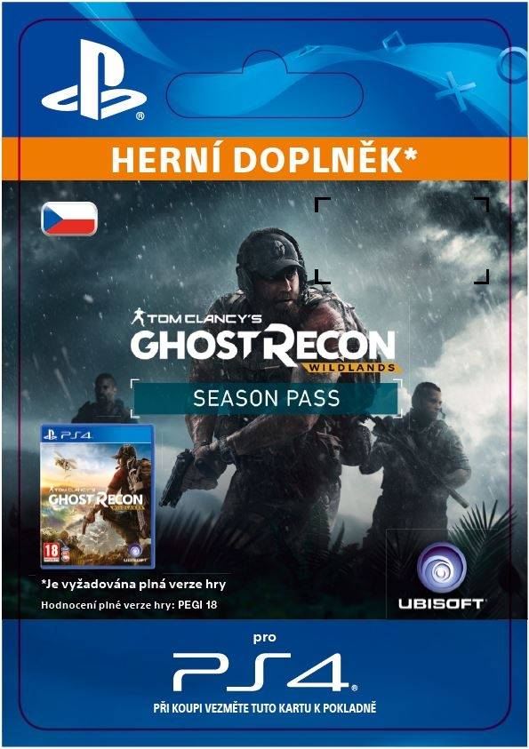 Tom Clancys Ghost Recon: Wildlands - Season Pass (PS4 DIGITAL)