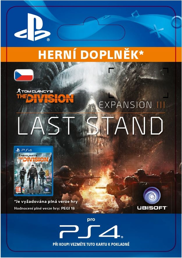 The Division: Last Stand (PS4 DIGITAL)