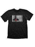Tričko Hitman - Barcode (velikost M)