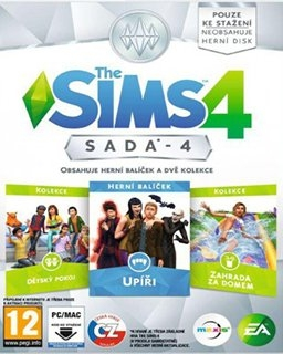 The Sims 4 Bundle Pack 4 (DIGITAL)