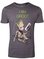 Tričko Guardians of the Galaxy Vol 2 - Mini Groot (velikost XL)