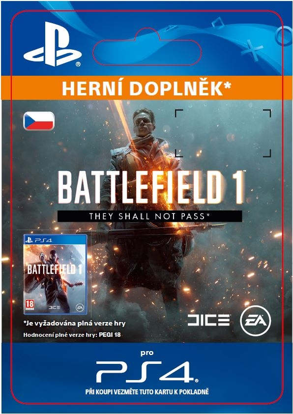 Battlefield 1 - They Shall Not Pass (PS4 DIGITAL) (PS4)