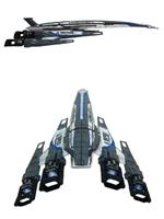 Model lodi Mass Effect 3 - Alliance Normandy SR-2 (poškozená krabička)