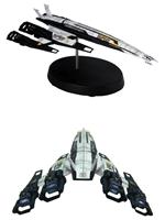 Model lodi Mass Effect 2 - Cerberus Normandy SR-2 (poškozená krabička)