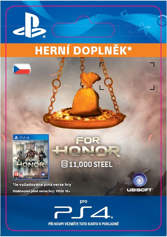 For Honor - 11 000 Steel Credits Pack (PS4 DIGITAL) (PS4)
