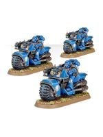 W40k: Space Marine Bike Squad (3 figurky)