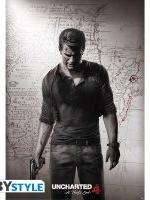 Plakát Uncharted 4 - Keyart