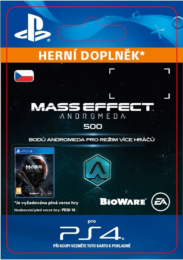 Mass Effect: Andromeda - 500 Points (PS4 DIGITAL)