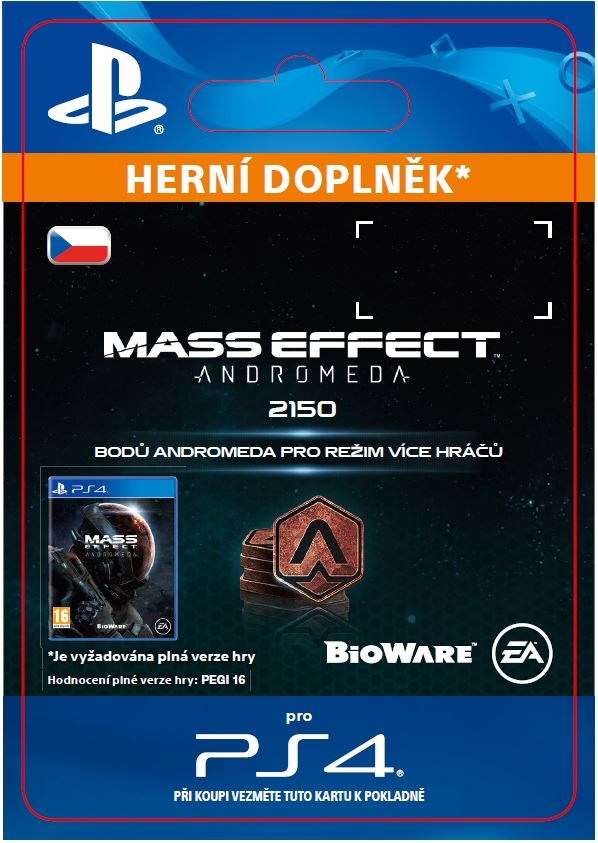 Mass Effect: Andromeda - 2150 Points (PS4 DIGITAL)